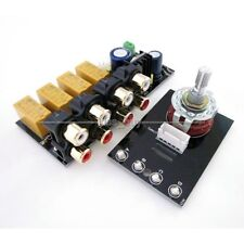 4 CH Audio Input signal Selector Relay Board/ Signal switching amplifier board