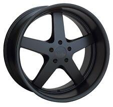 XXR 968 18X9 Rims 5-114.3mm +20 Flat Black Wheels Fits 350z G35 240sx Rx8 Rx7