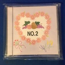 New Brother Fruits & Flowers Embroidery Memory Card #2 SA229 X58321-001