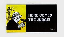 HERE COMES THE JUDGE Jack Chick Christian Bible Gospel JESUS Mini 5 x 2.75Tract