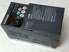 Mitsubishi FR-E720-015-NA E700 Inverter 2.5A 3 Phase, 200-240 VAC CSQ NEW