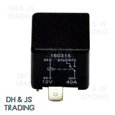 12V Relay 5 PIN Automotive 40AMP 40a Changeover RY16 Moulded Bracket