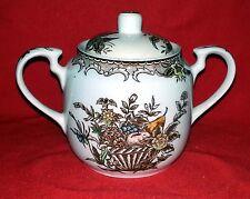 "Cheltenham Ltd China Dinnerware ""Fruit Basket"" - Sugar Bowl with Lid"