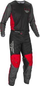 Fly Racing Kinetic K121 Jersey & Pant Combo Set MX Riding Gear ATV Motocross '21