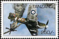WWII RAF Hawker HURRICANE Mk.IIB Hurribomber Dogfight Aircraft Stamp (1997)
