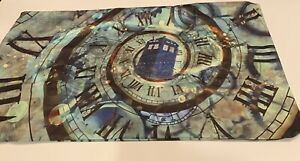 Doctor Who Tardis Pillow Case Two Sided 30 X 20 inches Invisible Zip Closure