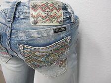 NWT Miss Me Midrise Boot Cut Stretch Jeans Summer Tour MP8601B  Size 28 X 34Cute