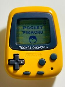 Pocket Pikachu Virtual Pet Game Nintendo POCKET MONSTERS Japanese Working Tested
