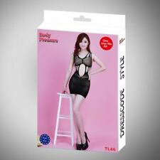 Body Pleasure - TL46 - Sexy Lingerie Set - One Size Fits Most - Gift Box - Black