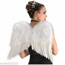 FEATHER Adult ANGEL WINGS ~ Halloween Costume Party Supplies Dress Up Cosplay