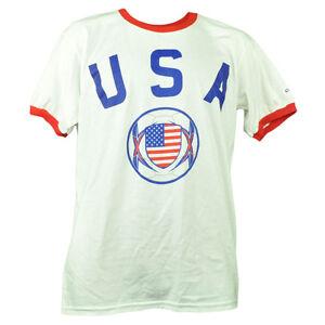 United States Copa America Centenario USA 2016 Tshirt Tee White Mens Soccer