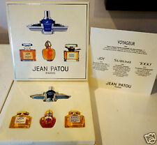 coffret parfum Miniatures Jean PATOU Joy 1000 Sublime Voyageur flacon neuf verre
