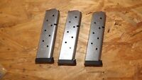 3 - NEW 8rd STS mags magazines clips for Taurus PT-1911 .45       (Z104)