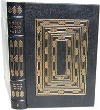 Uncle Tom's Cabin by Harriet Beecher Stowe ~ Easton Press 1979 Full Leather