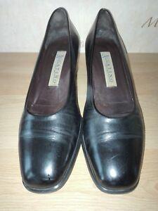 Accatino Damenschuhe Leder Gr.39 schwarz