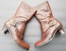 BORN Boots Leather Brown Size 9 Shoes $104