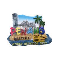Penang Malaysia 3D Fridge magnet Tourist Souvenir Travel Home Decor Collection