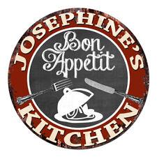 CPBK-0121 JOSEPHINE'S KITCHEN BonAppetit Chic Tin Sign Decor Gift Ideas