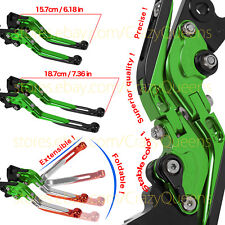 For Kawasaki Ninja 250 R 2007 Clutch Levers Folding Extend Brake US Motorbike