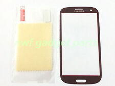New Front Outer Glass Replacement  for Samsung Galaxy S3 i9300+SP  (Red)  US-FL