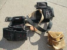 Husky & CLC Tool Belts Handyman Apron Carpenter Construction Wood Working Belt