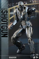 "Shotgun Iron Man 3 Mark 40 XL Armor MMS309 12"" Marvel Figur Hot Toys"