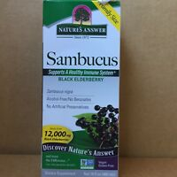 Nature's Answer Sambucus Black Elderberry  16 fl oz