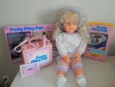 Patty Play Pal Doll & Cassette Player