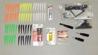 Complete Archery ARROW MAKING FLETCHING KIT Arrow GRAYLING RIGHT Jig VANES GLUE