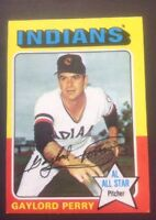 1975 Topps Set Break #530 Gaylord Perry NM Cleveland Indians (C171)