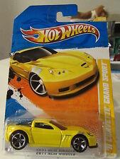 Hot Wheels '11 Corvette Grand Sport 2011 New Models Yellow