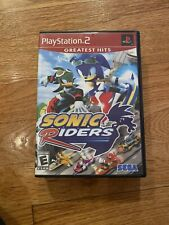Sonic Riders Sony PlayStation 2 PS2 TESTED Complete