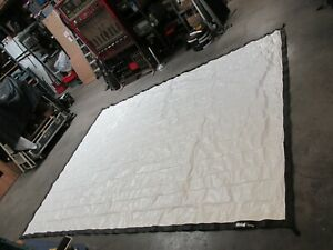 12x9 foot Da Lite deluxe front & rear projection fastfold screen KIT (M1)