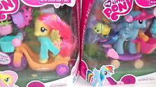 NEW My Little Pony Riding Along Rainbow Dash Fluttershy Retired 2010 Sealed MLP