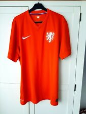 Netherlands Home Shirt 2014. XL Official Nike Orange Adults Holland Football Top