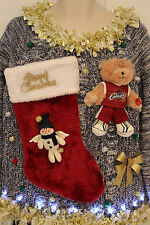 Ugly Christmas Sweater Cleveland Cavaliers Cavs SIZE XL Lights Up