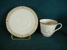 Royal Doulton White Nile TC1122 Cup and Saucer Set(s)