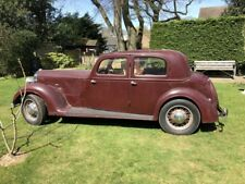 Rover P2 14 (1915cc 6cyl)  Sports Saloon PreWar (1939) Very Original Low Mileage