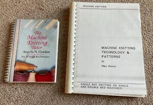 MACHINE KNITTING TECHNOLOGY &PATTERNS BY MARY WEAVER