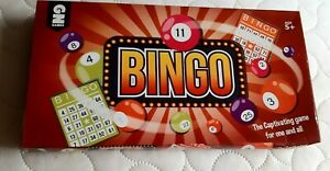 Bingo Board Game by GN Games Age 5+ Family Fun Party NEW