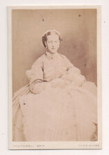 Vintage CDV Princess Alexandra of Denmark Queen of Great Britain Southwell Pho