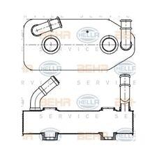 1 Ölkühler, Automatikgetriebe HELLA 8MO 376 787-681 passend für AUDI SEAT SKODA
