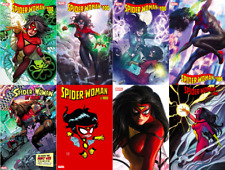 Spider-Woman #5 (#100) 8 Variant Cover Set (Nm) Momoko Alex Ross Artgerm Young