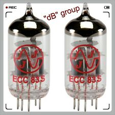 2x ECC83 JJ-Electronic valve tube 12AX7 ECC83S NEW and MATCHED DUET PAIR