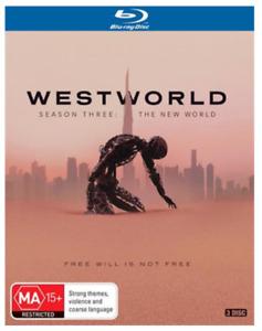 Westworld COMPLETE Season 3 : NEW Blu-Ray