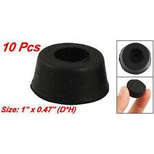 10 Pcs 26mm X 12mm Furniture Chair Cone Rubber Feet Pad Cover Bumper N0l2