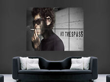 BANKSY SMOKING MONKEY POSTER FUNNY HUMOUR STREET GRAFFITI GIANT PRINT IMAGE HUGE