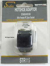 New listing Interfit Str115 Hot Shoe Adapter - Standard, with Pc Terminal New