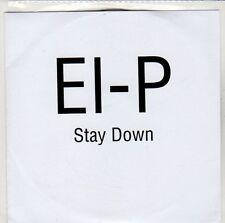 (ED521) El-P, Stay Down - DJ CD
