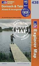 Dornoch and Tain - OS Explorer ACTIVE Map 438 (NEW 2007 folded sheet map)